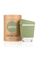 Joco Joco Reusable Glass Cup Vintage Green 12oz