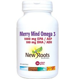New Roots New Roots Merry Mind Omega 3 - 30 softgels