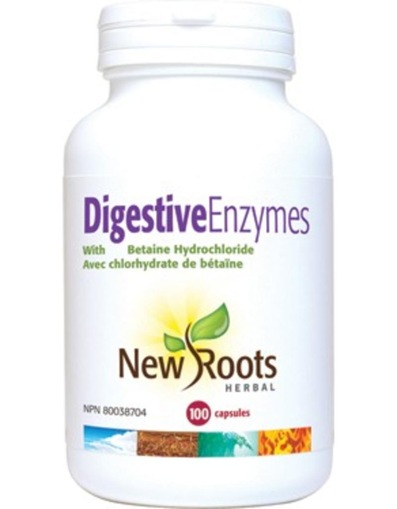 New Roots New Roots Digestive Enzymes 100 caps