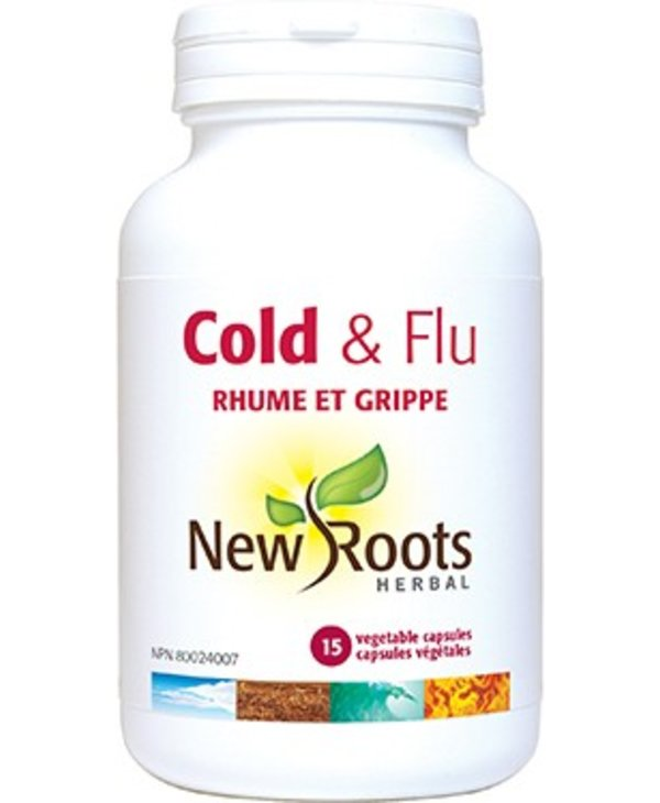 New Roots Cold and Flu 15 caps