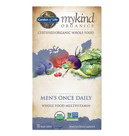 Garden Of Life My Kind Organics Men's Once Daily Whole Food Organic Multi 30 tabs