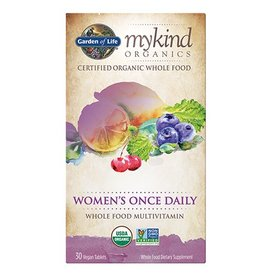 Garden Of Life My Kind Organics Women's Once Daily Whole Food Organic Multi 30 tabs