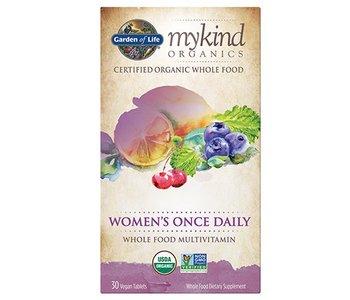 My Kind Organics Women's Once Daily Whole Food Organic Multi 30 tabs