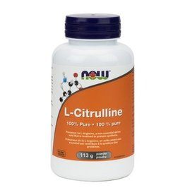 NOW NOW L-Citrulline 100% Pure Powder 113g