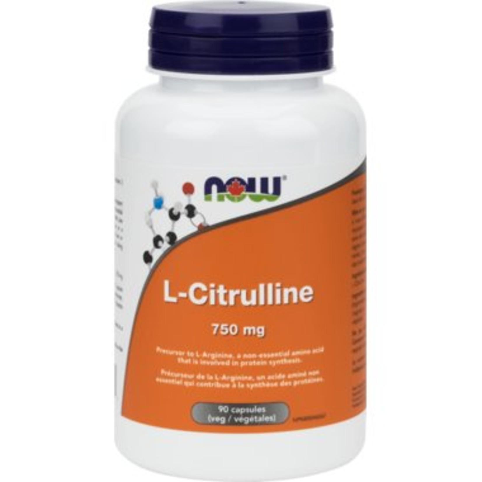 NOW NOW L-Citrulline 750mg 90 caps