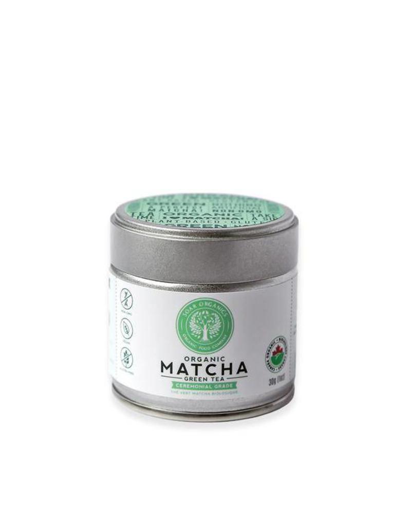 Soar Organics Organic Matcha 30g Tin