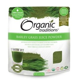 Organic Traditions Barley Grass Juice Powder 150g