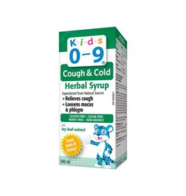 Homeocan Homeocan Kids 0-9 Cough and Cold Herbal Syrup100ml