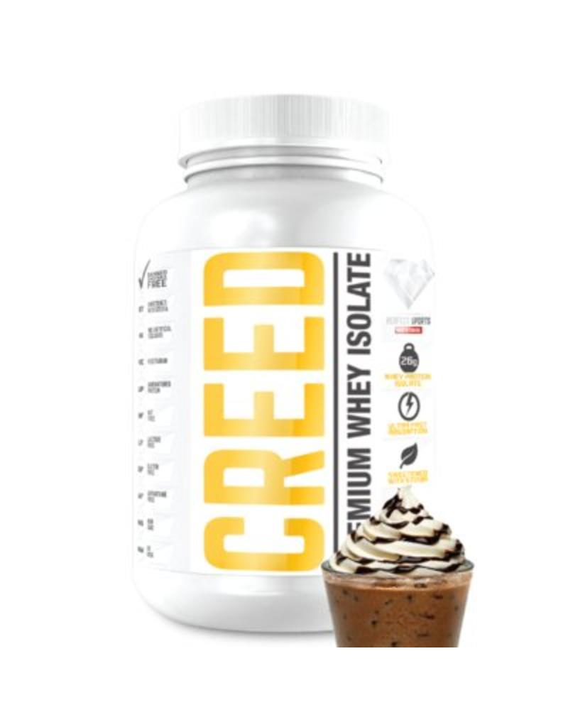 Perfect Sport Creed Whey Protein Isolate Ice Mochaccino 1.6lb