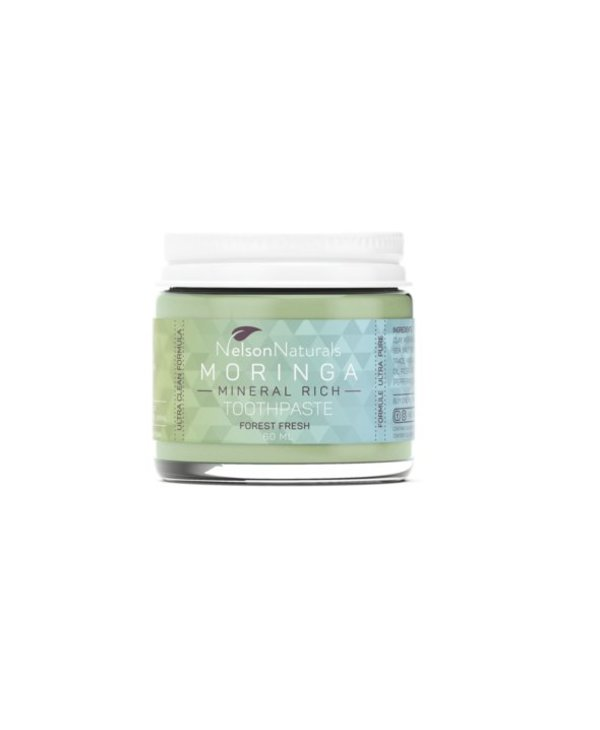 Nelson Naturals Moringa Mineral Rich Toothpaste- Forest Fresh 60ml