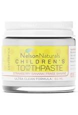 Nelson Naturals Children's Natural Toothpaste - Strawberry Banana 60ml