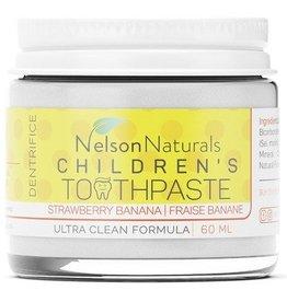 Children's Natural Toothpaste - Strawberry Banana 60ml
