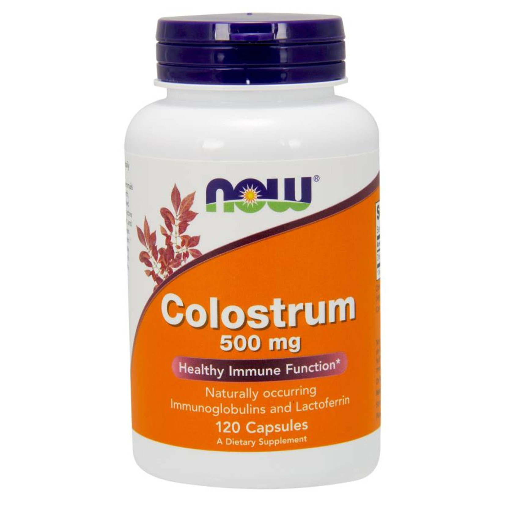 NOW NOW Colostrum 500mg 120caps