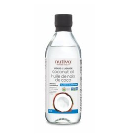 Nutiva Liquid Coconut Oil Organic 473ml