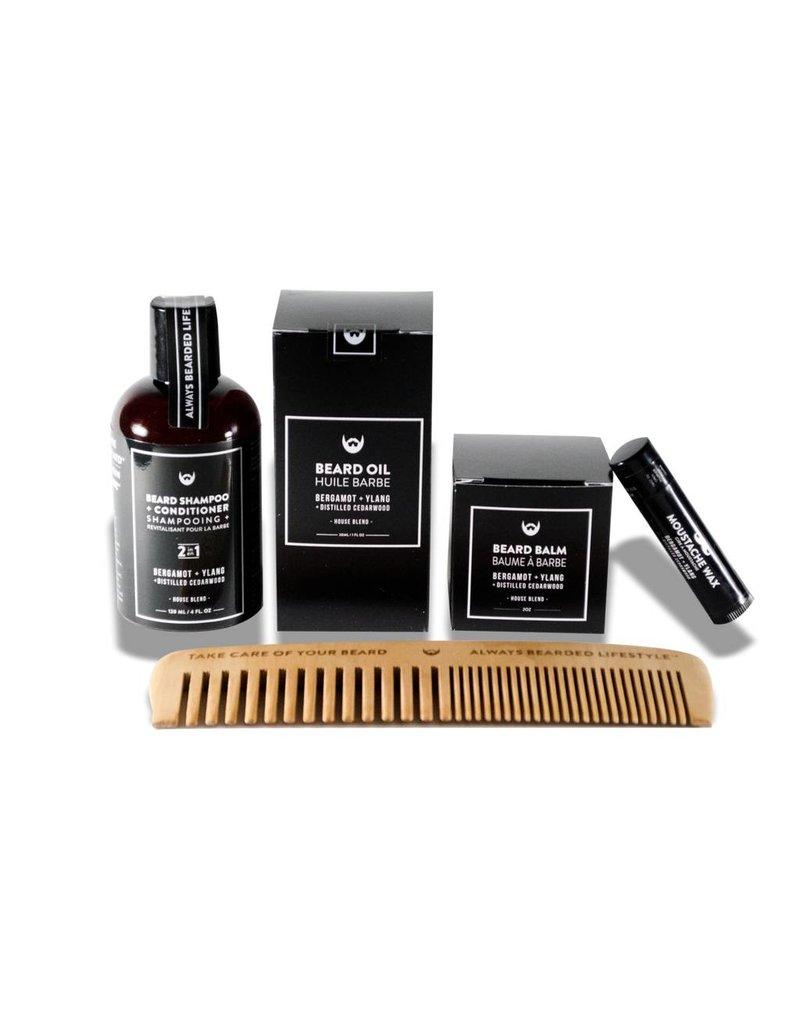 Always Bearded Lifestyle Always Bearded Lifestyle  Beard Grooming Kit Bergamot Ylang