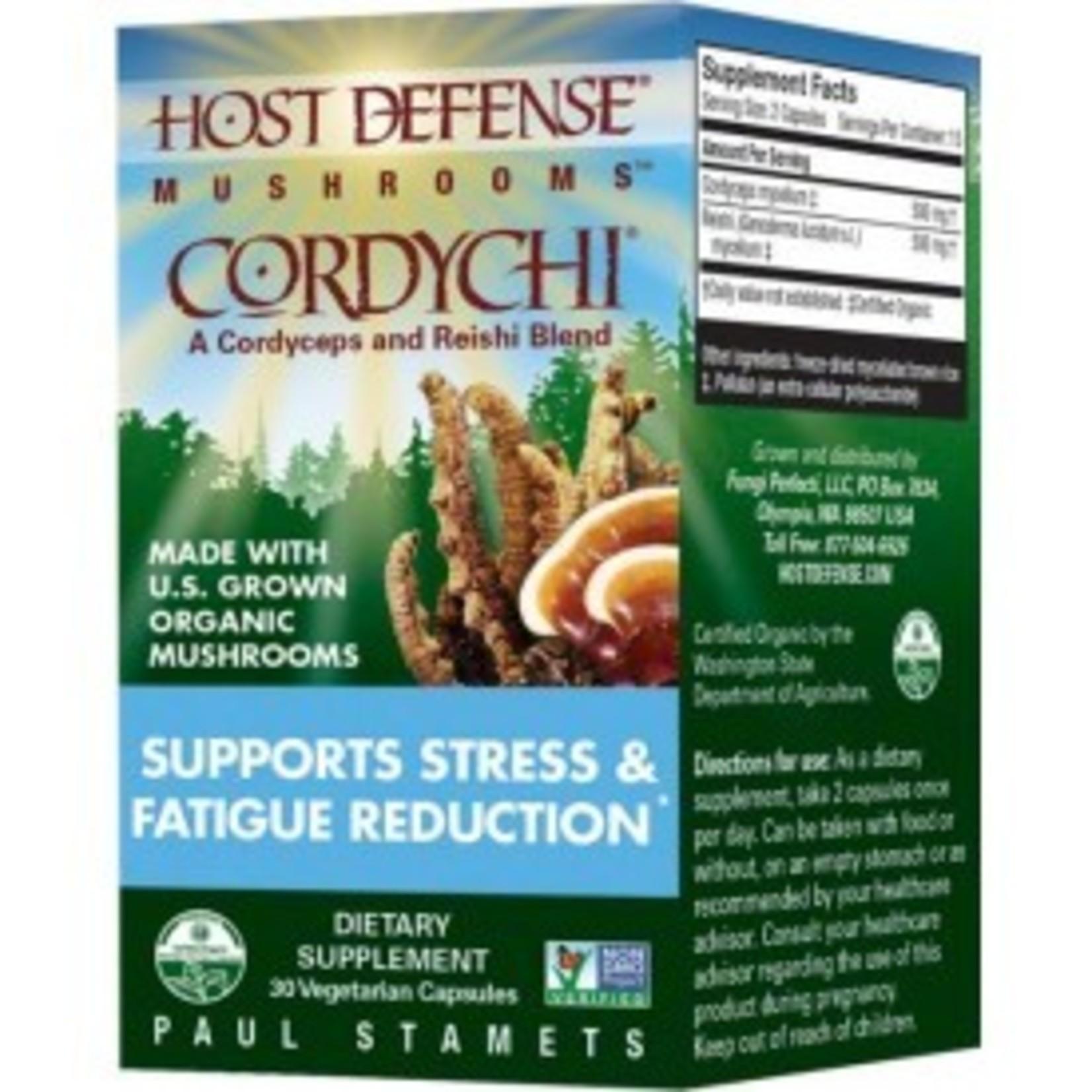 Host Defense Host Defense Cordychi - Cordyceps and Reishi 30caps