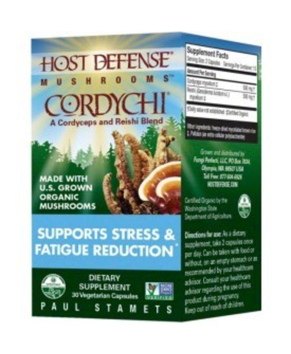 Host Defense Cordychi - Cordyceps and Reishi 30caps