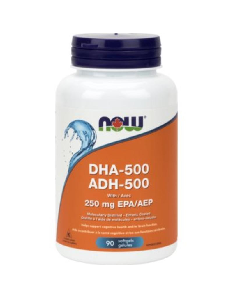 NOW DHA 500 90 softgels