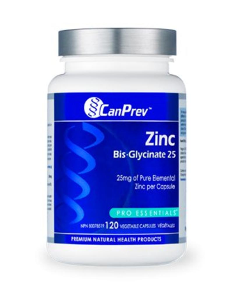 Can Prev Can Prev Zinc Bis Glycinate 25mg 120caps