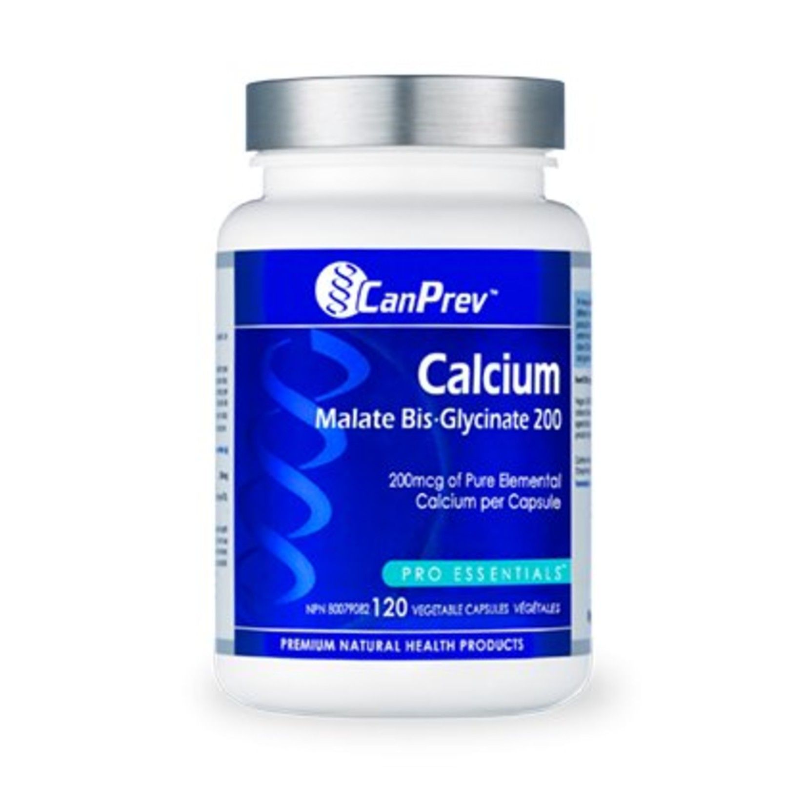 Can Prev Can Prev Calcium Malate Bis Glycinate 200mg 120 caps