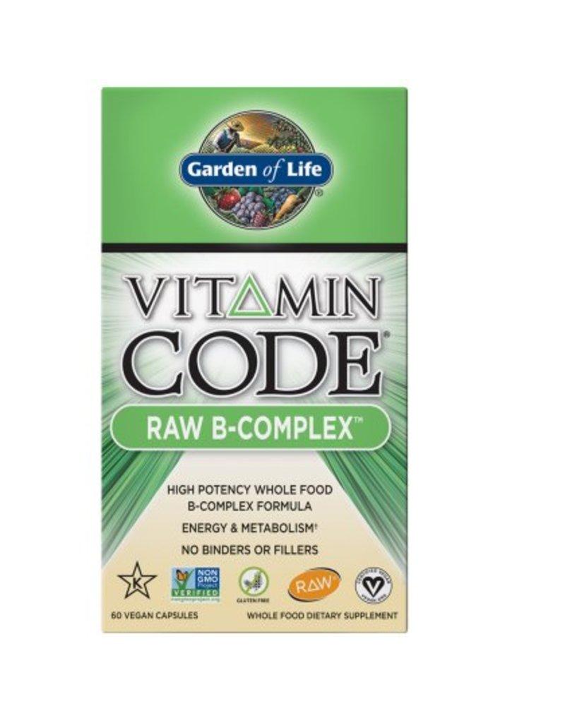 Garden Of Life Garden of Life Raw B-Complex 60 caps