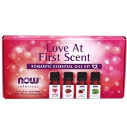 NOW Love At First Scent Essential Oil Kit