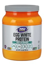 NOW Egg White Protein Unflavoured 545g