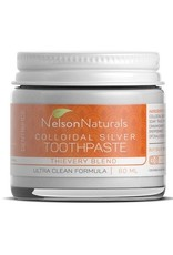Nelson Naturals Colloidal Silver Toothpaste Thievery Blend 60ml