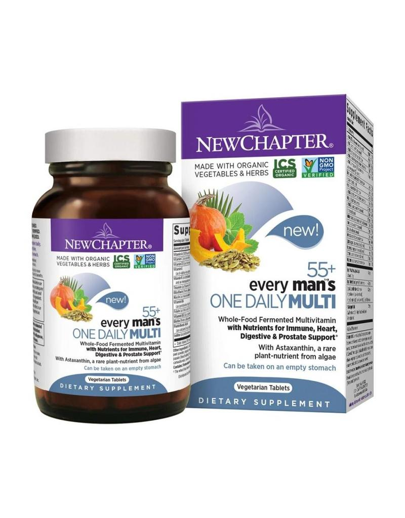 New Chapter Every Man's One Daily Multi 55+ 48 tabs