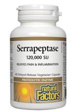 Natural Factors Serrapeptase 120,000 SU 60 caps