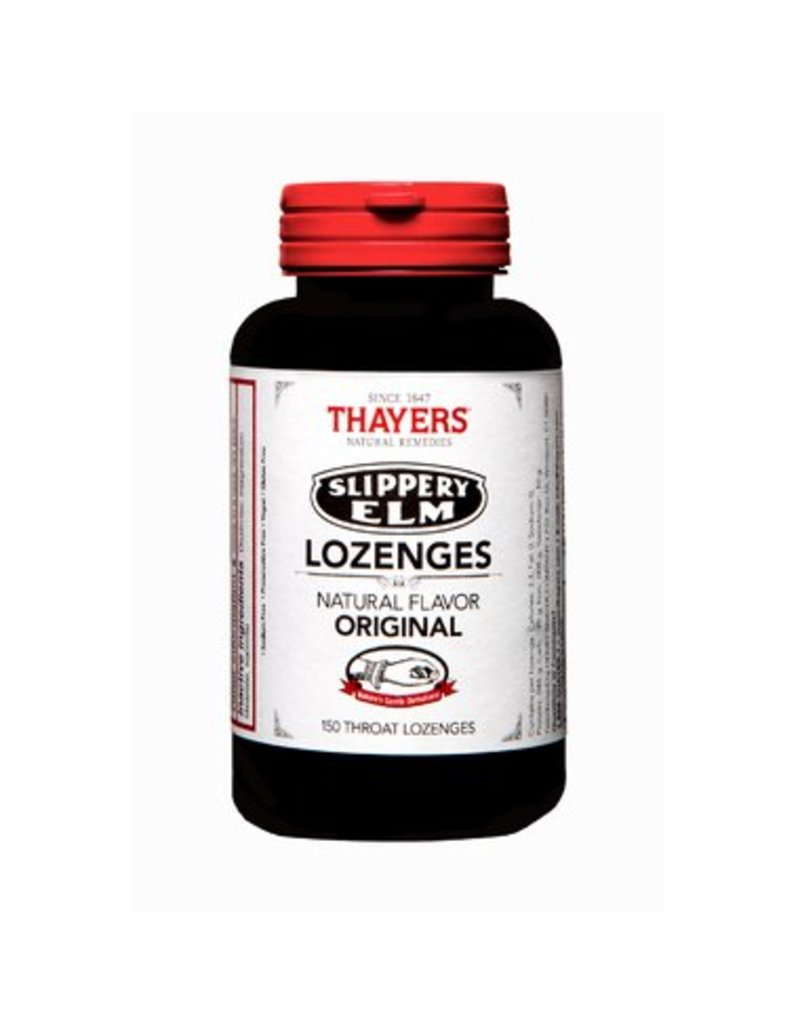 Thayers Slippery Elm Original 150 lozenges