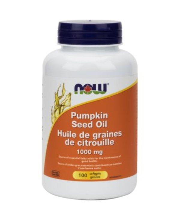 NOW Pumpkin Seed Oil 100 softgels