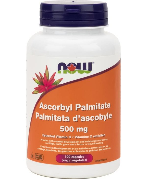 NOW Ascorbyl Palmitate  500mg 100caps