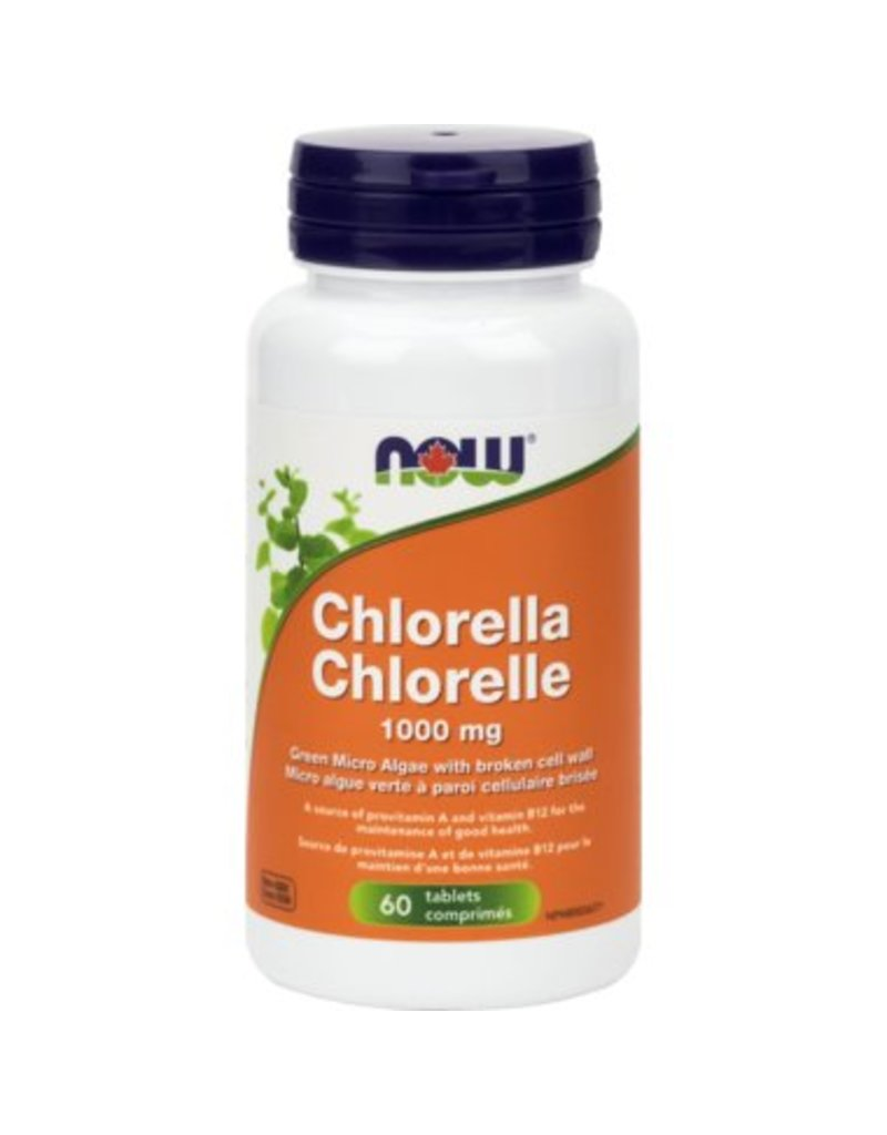 NOW NOW Chlorella 1000mg 60tabs