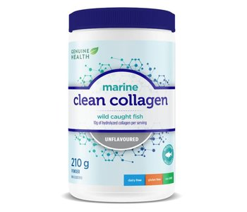 Genuine Health Marine Clean Collagen Unflavoured 210g