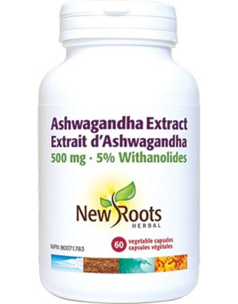 New Roots Ashwagandha 500mg 30 caps