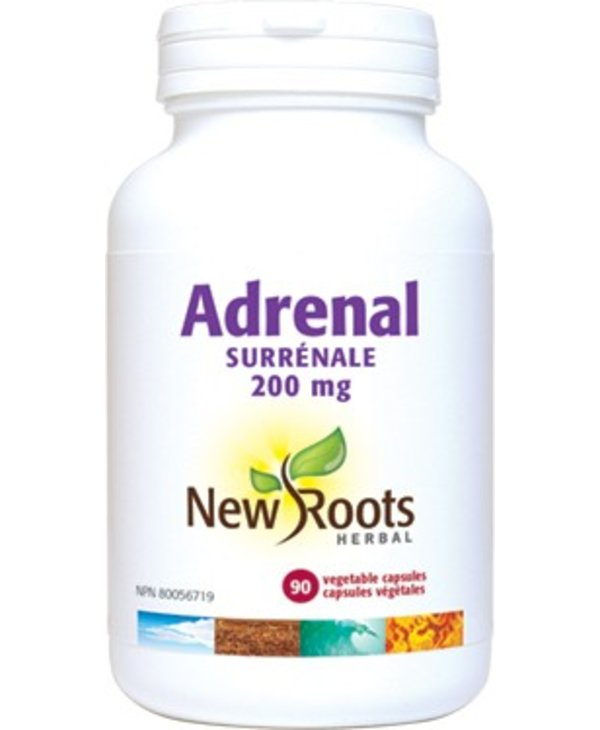 New Roots Adrenal Concentrate 200mg 30 softgels