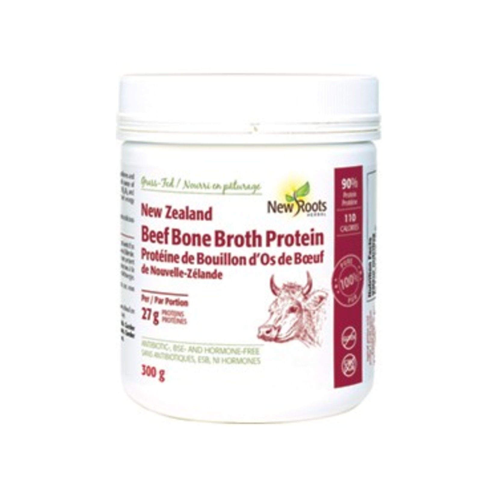 New Roots New Roots New Zealand Beef Bone Broth Protein 300g