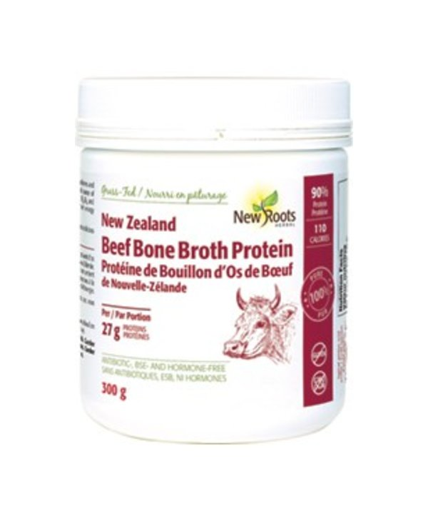 New Roots New Zealand Beef Bone Broth Protein 300g