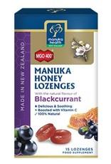 Manuka Health Manuka Honey Lozenges - Blackcurrant 15 loz