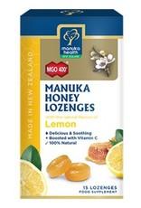 Manuka Health Manuka Honey Lozenges - Lemon 15 loz
