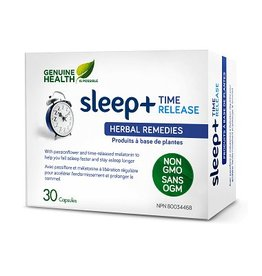 Genuine Health Genuine Health Sleep+ Time Release 30caps