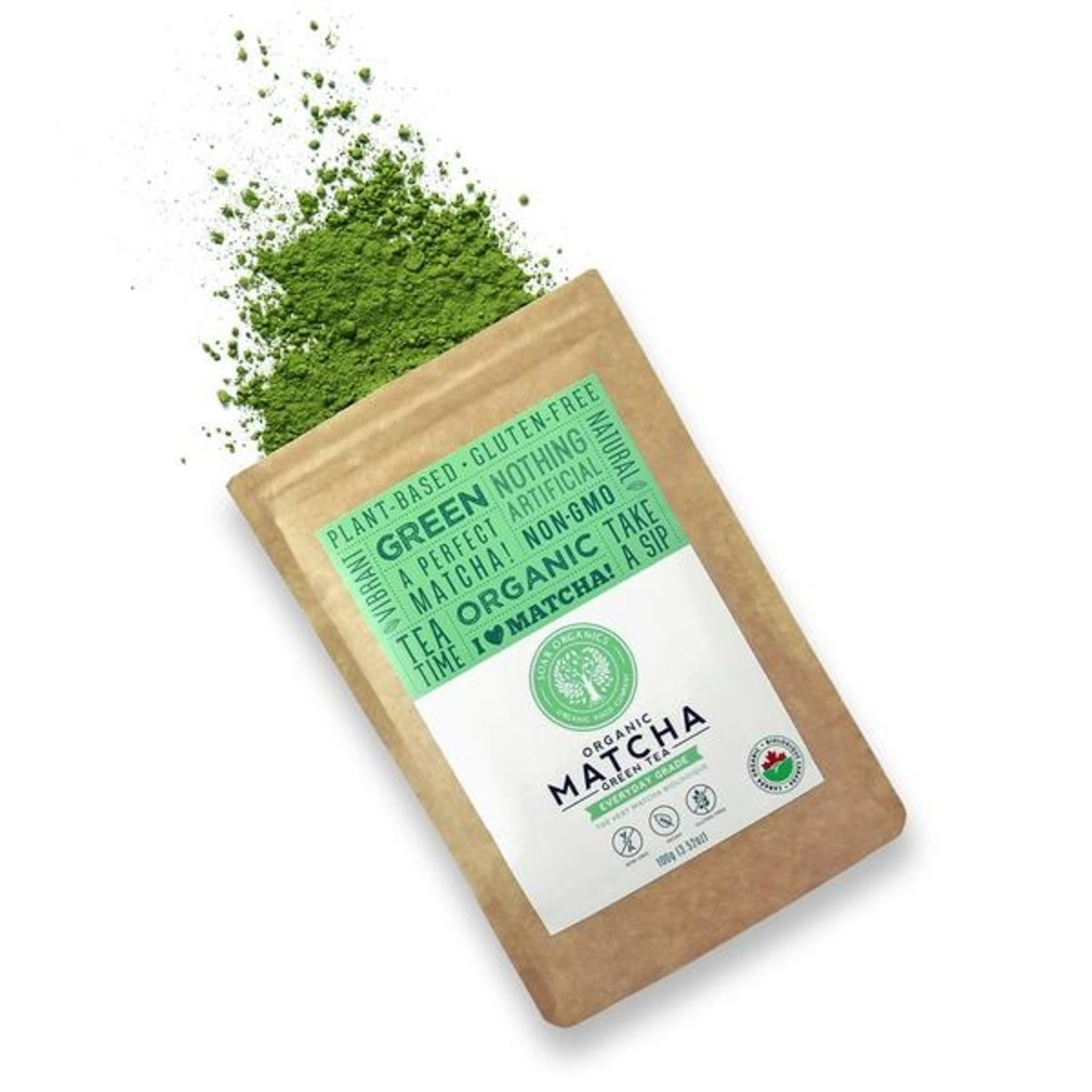 Soar Organics Organic Matcha Green Tea Everyday Grade 100g