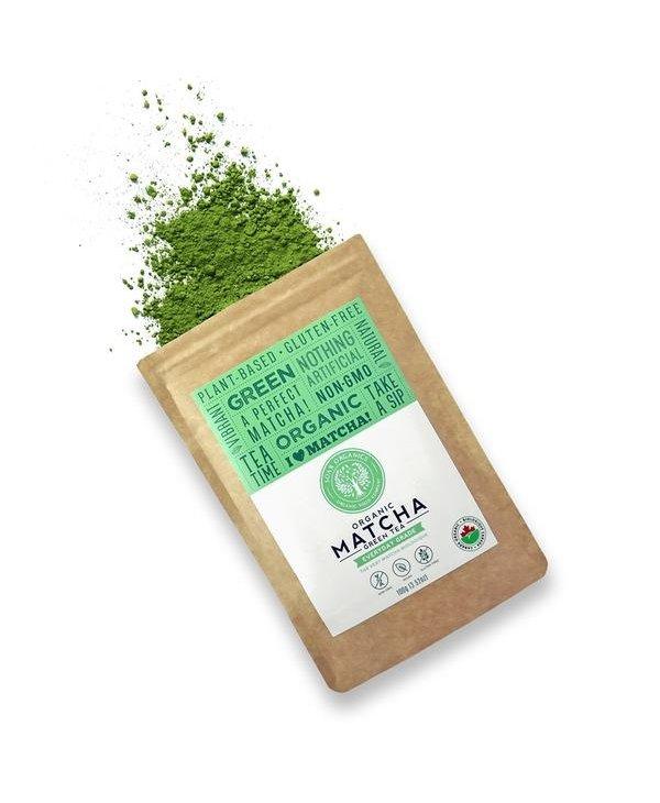 Organic Matcha Green Tea Everyday Grade 100g