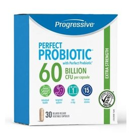 Progressive Perfect Probiotic Extra Strength 60 Billion 30 caps