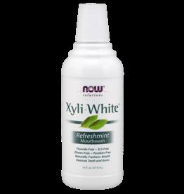NOW NOW Xyliwhite Mouthwash Refresh Mint 16oz