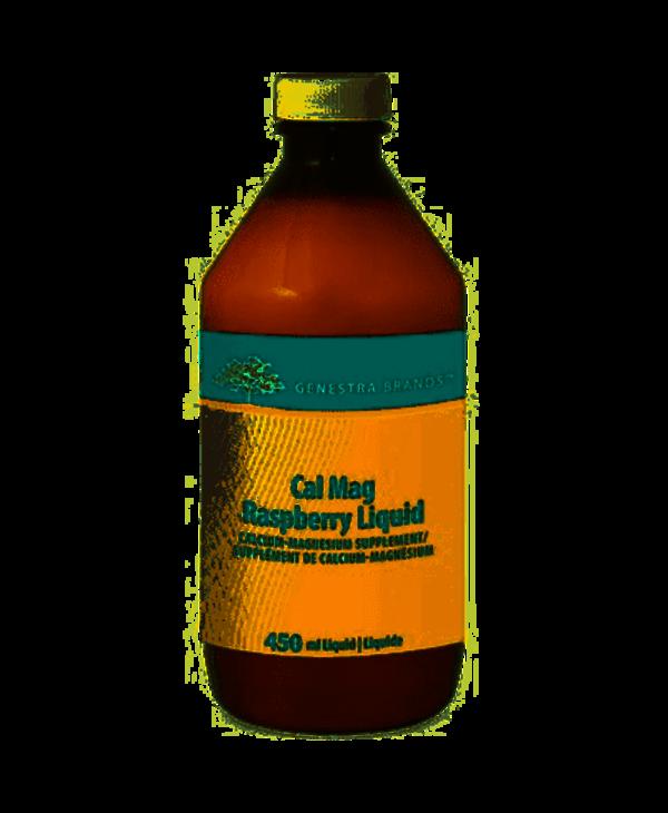 Genestra Cal Mag Raspberry Liquid 450ml
