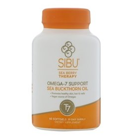 Sibu Seabuckthorn Oil Omega 7 1000mg 60 softgels
