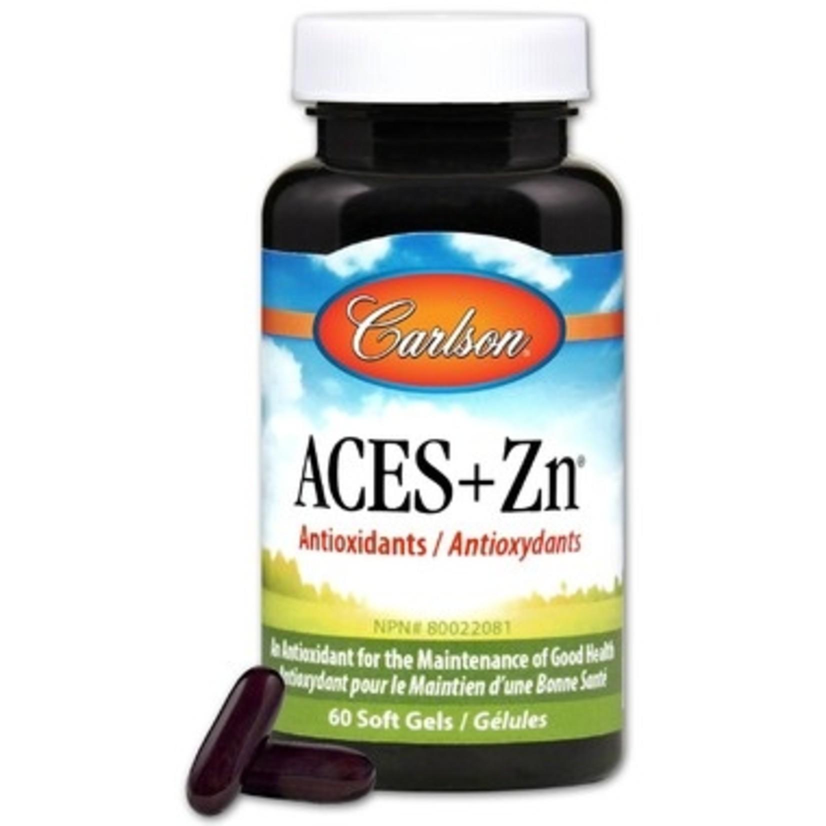 Carlson Carlson ACES+ Zinc 60 softgels