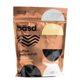 Basd Basd Coffee Body Scrub- Creme Brule 180g